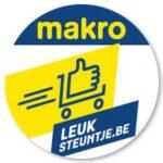 Logo: steun mensen met kanker in Gent door te winkelen bij MAKRO